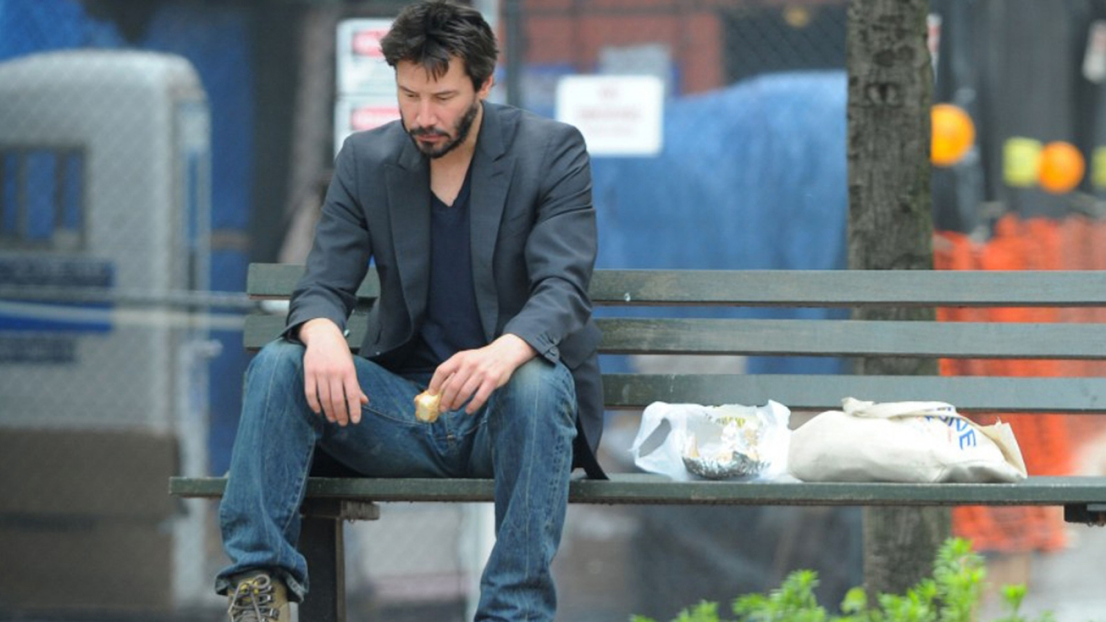 Sad Keanu Reeves Wallpaper
